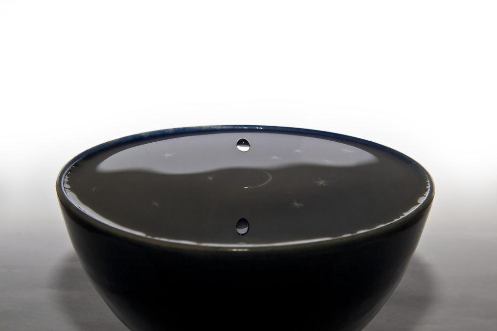 Wasserschale mit Tropfen 3991.1