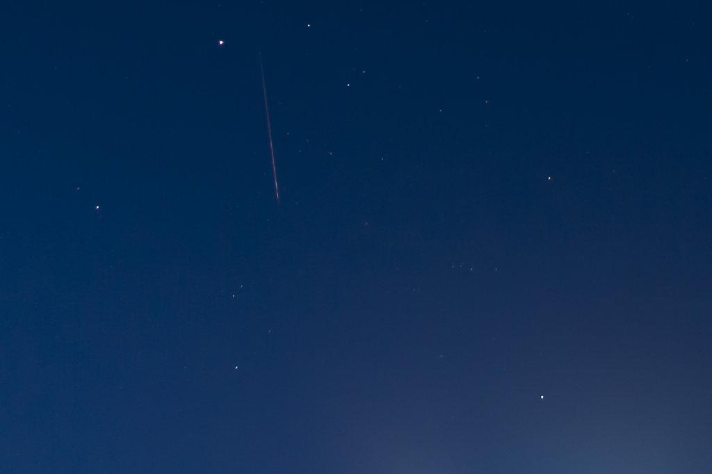 Sternschnuppenjagd Nachthimmel Sterne  4995.1