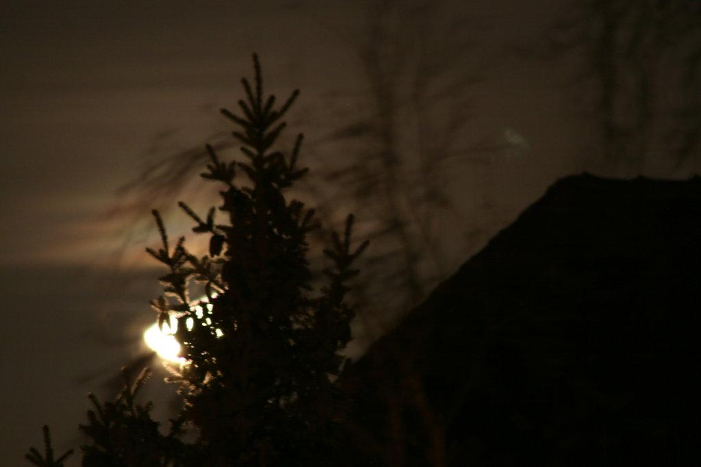 Monduntergang am 2. Advent 2011 6650