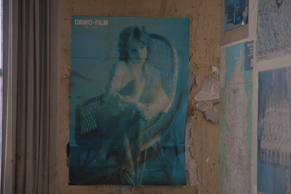 Ehem LVZ Druckerei Hermann Duncker ORWO FILM Plakat 5697.1