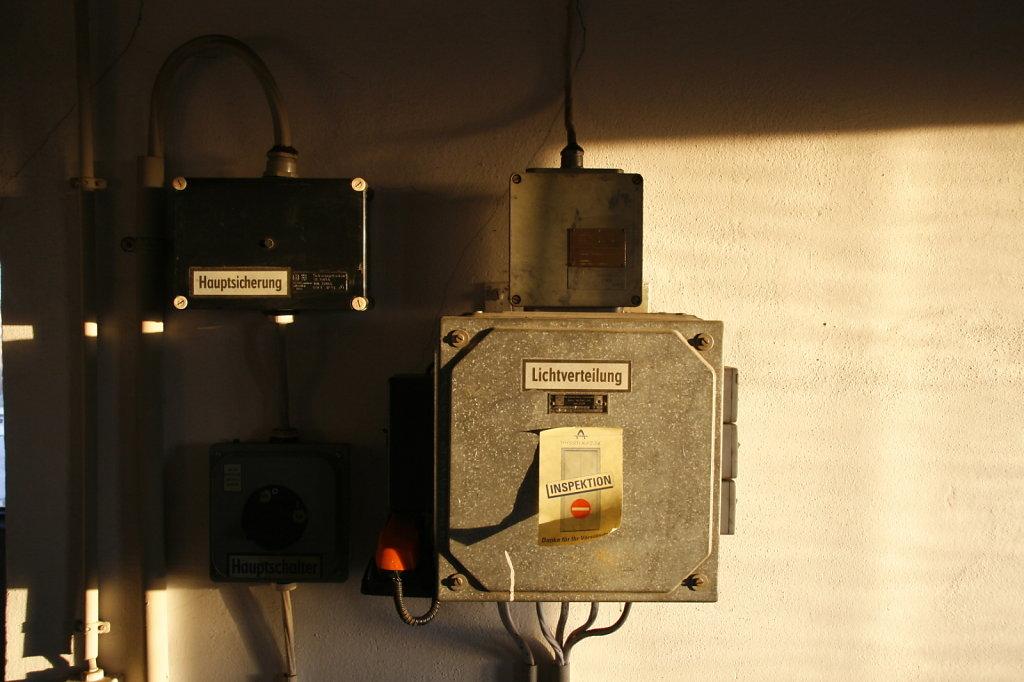 Ehem LVZ Druckerei Hermann Duncker Lichtverteilung Inspektion 5602