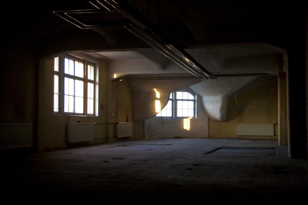 Ehem LVZ Druckerei Hermann Duncker Dachgeschoss 5593.1