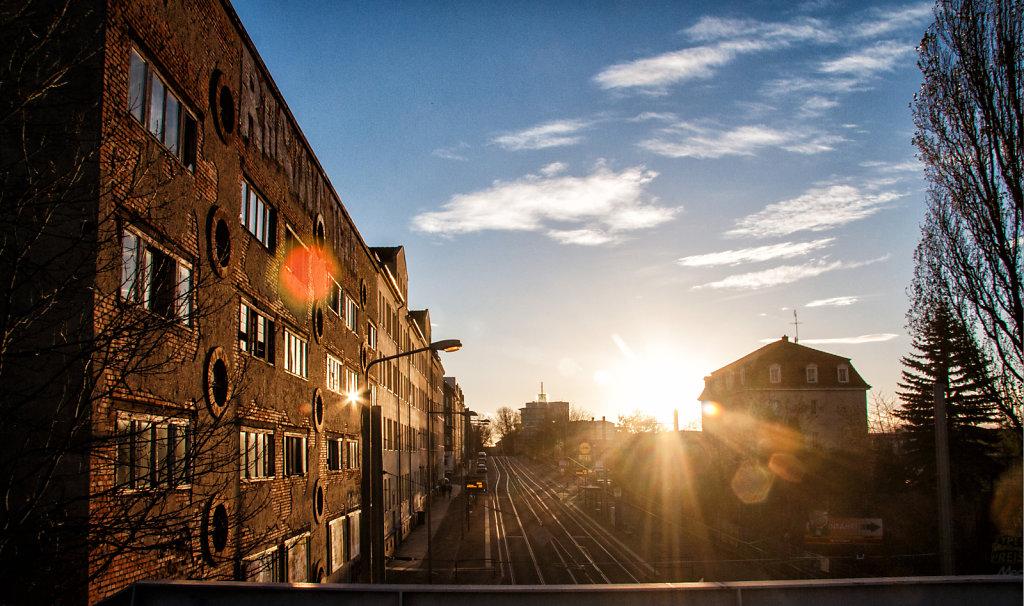 Sonnenuntergang Torgauerstr.  9252.1
