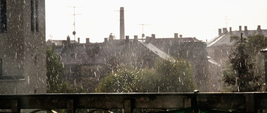 Regentropfen-aufprall